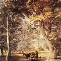 SANDBY_Paul_Cow_Girl_In_The_Windsor_Great_Park.jpg