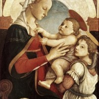 s2 sandro botticelli ýtalian artist, 14451510 madonna and child with angel.jpg